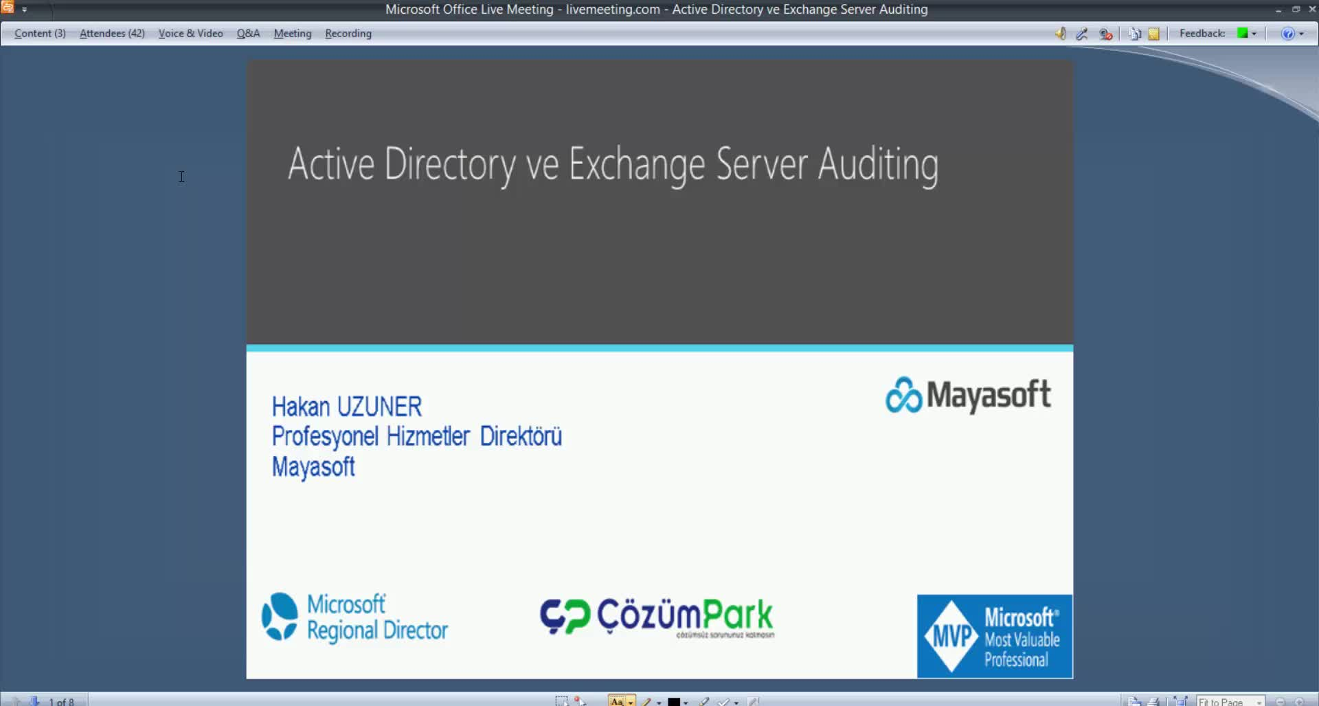 Active Directory ve Exchange Server Auditing