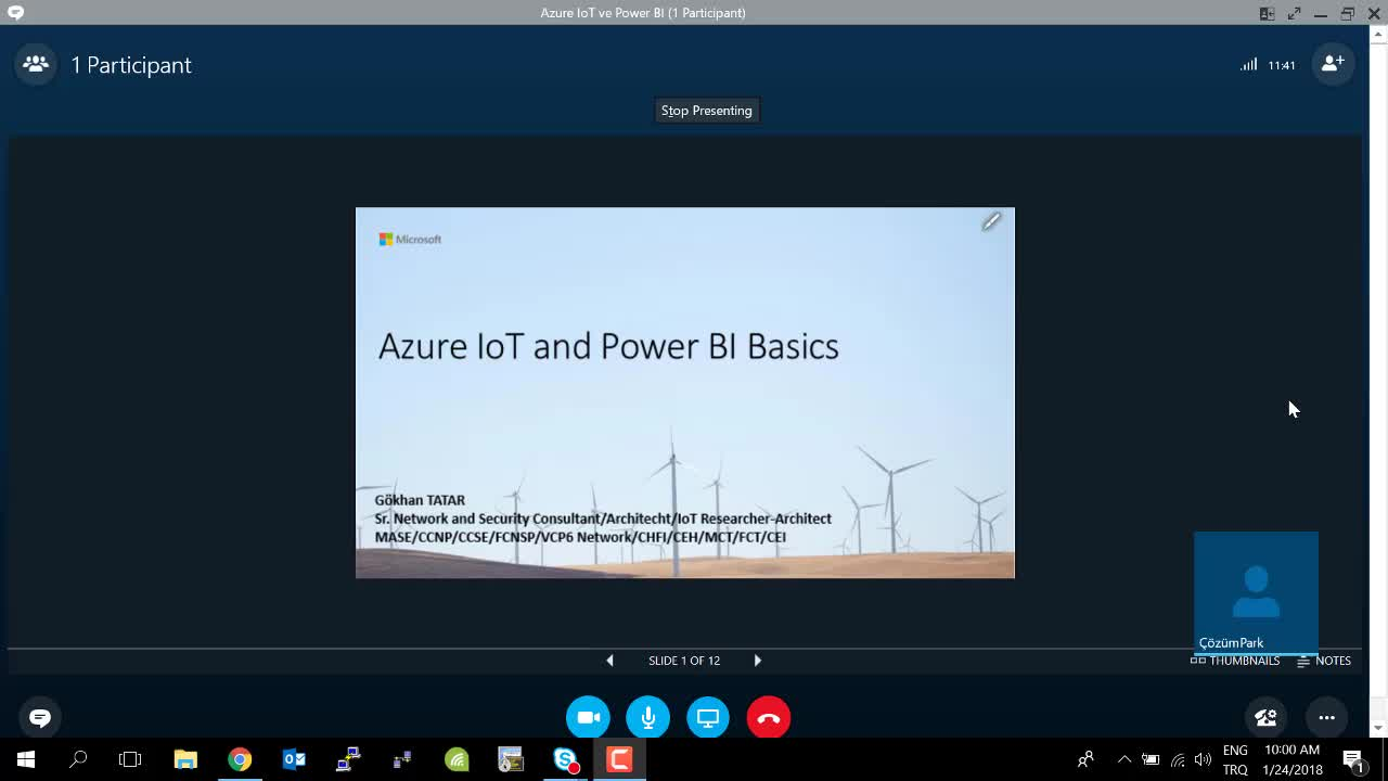Azure IoT and Power BI Temelleri