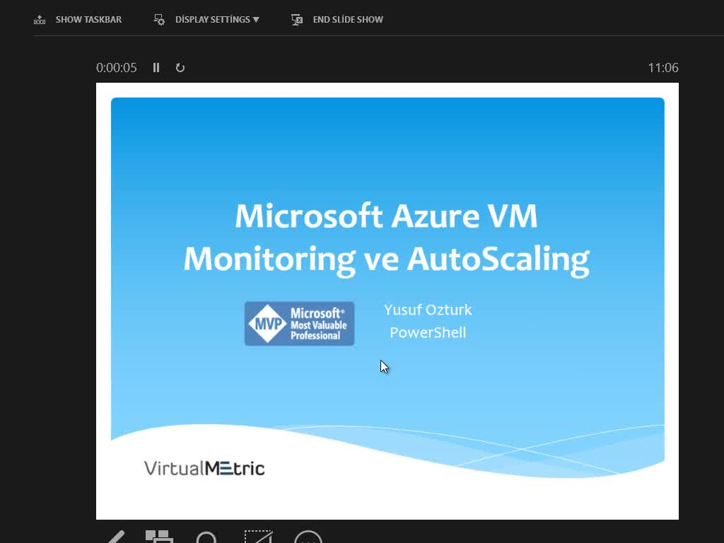 Microsoft Azure VM Monitoring and Autoscaling