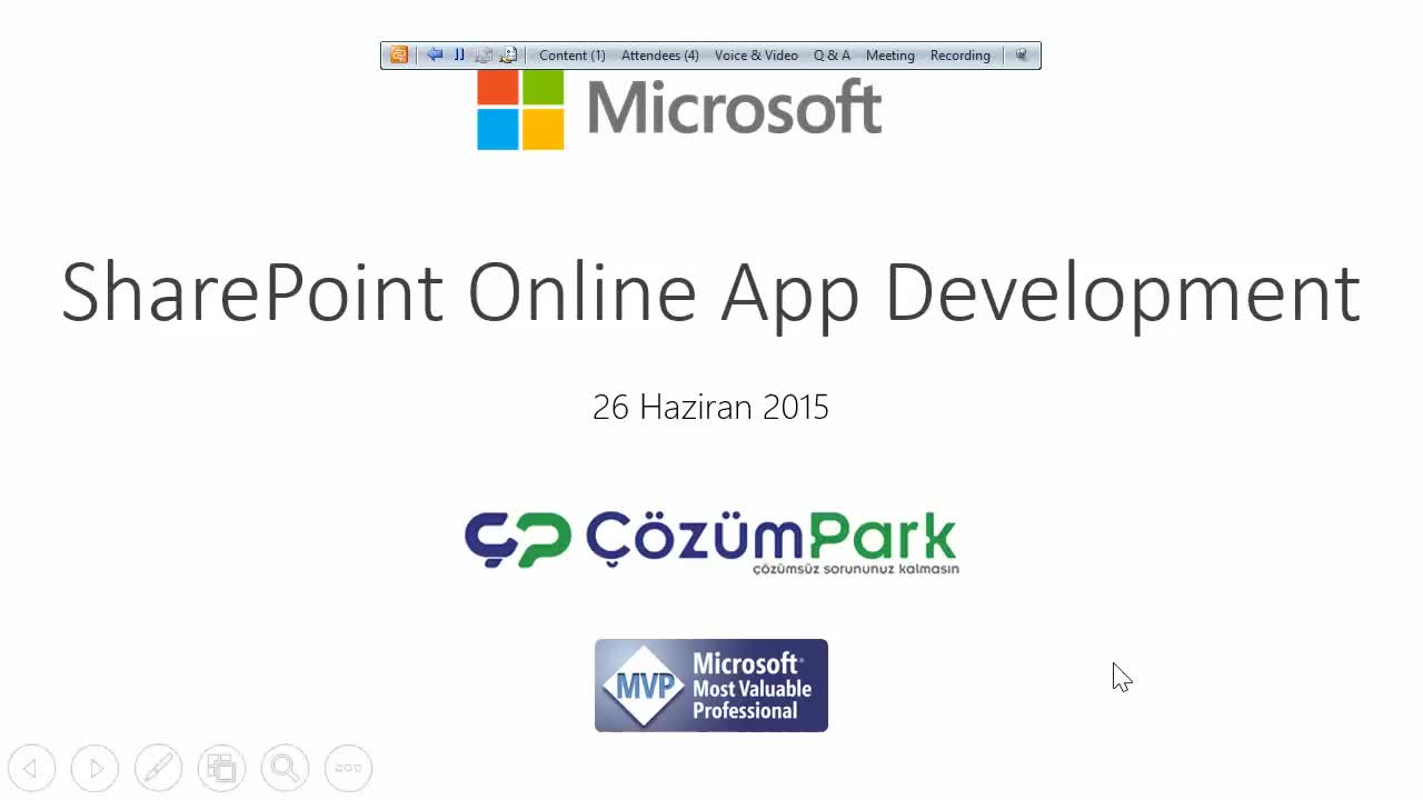 Sharepoint Online Application development