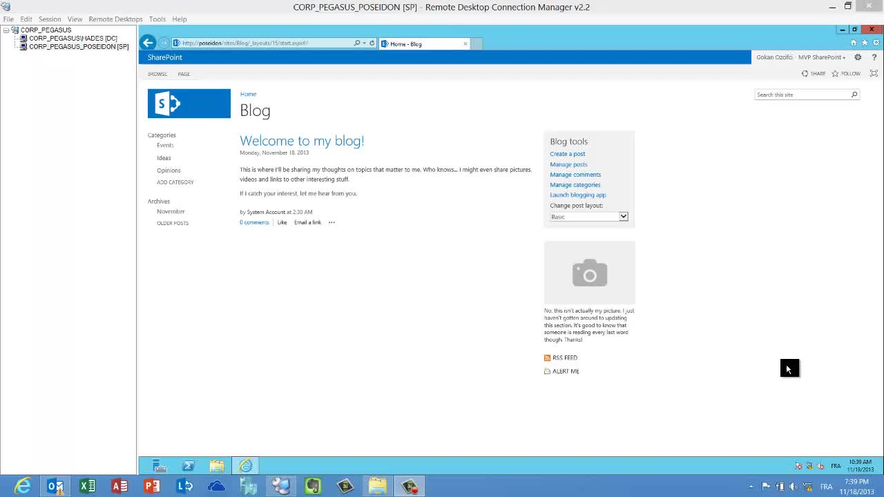 Sharepoint 2013 Create Site