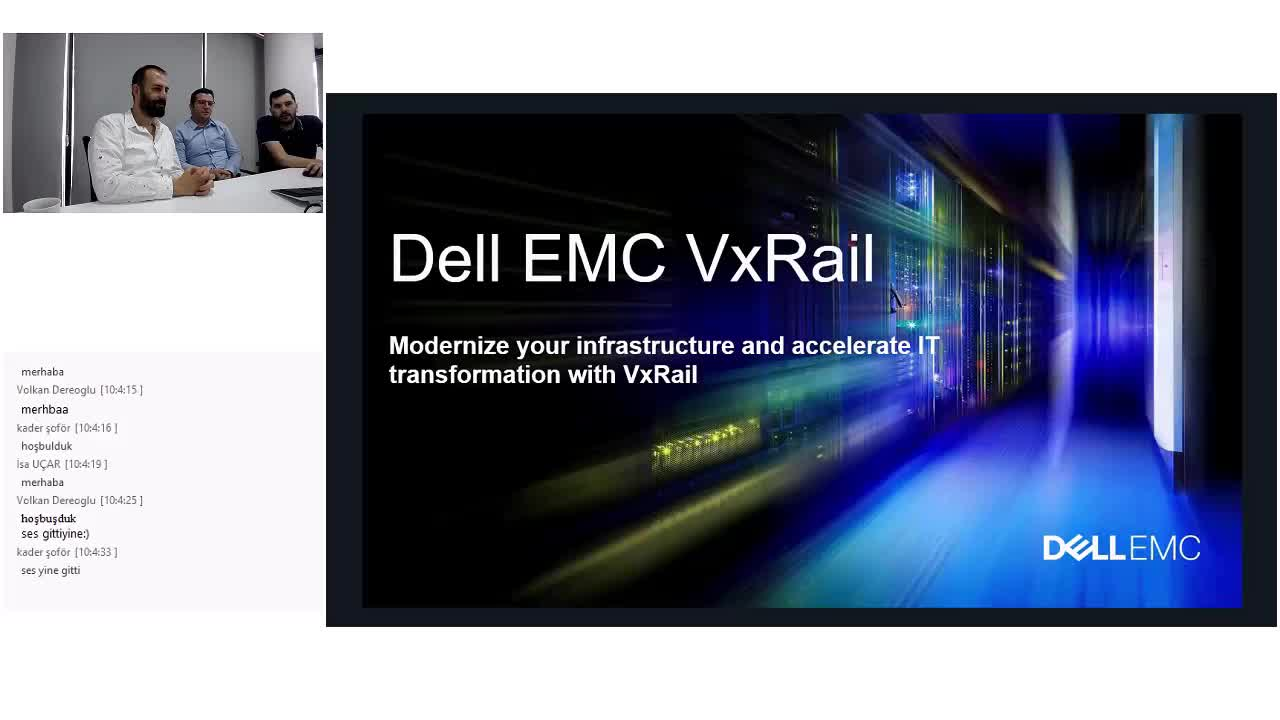 Dell EMC Hyper-Converged Infrastructure Vxrail