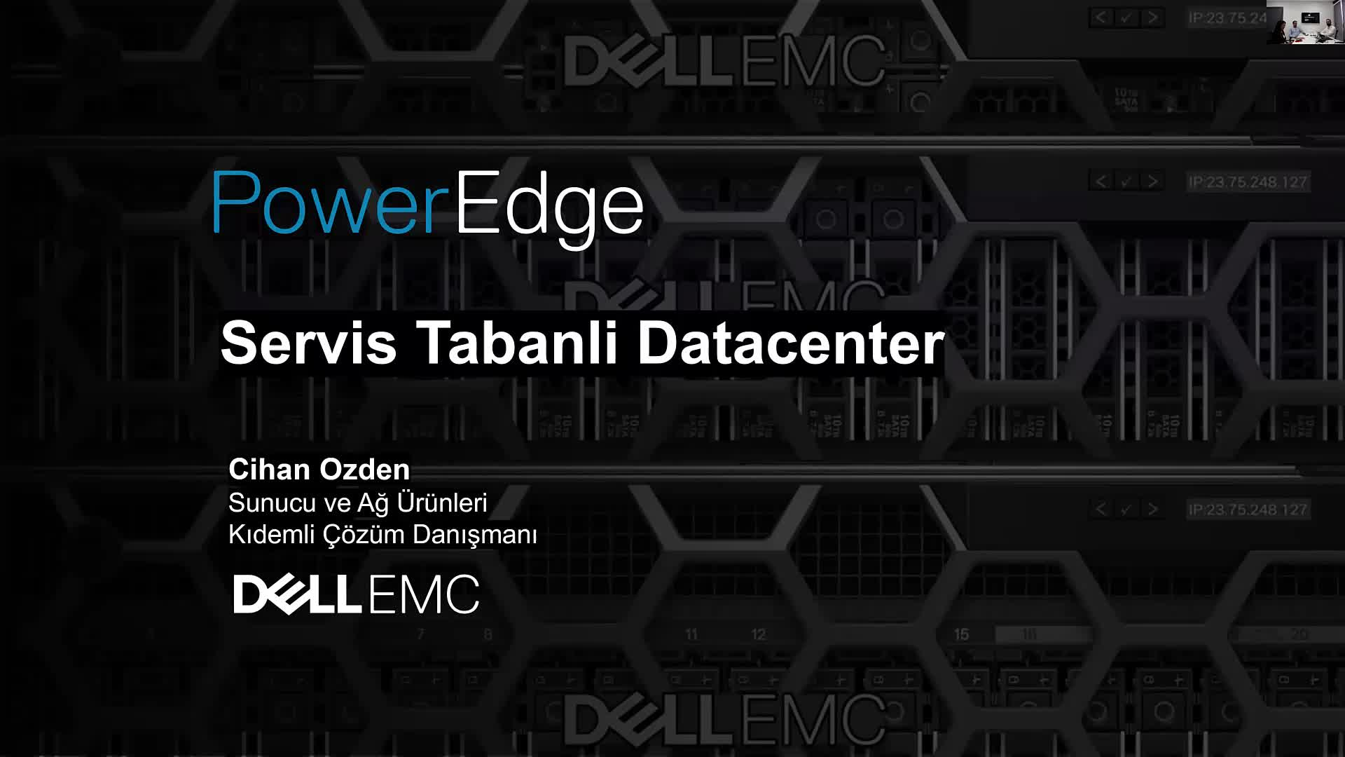 Dell PowerEdge MX Kinetic Compute ve Network Özellikleri