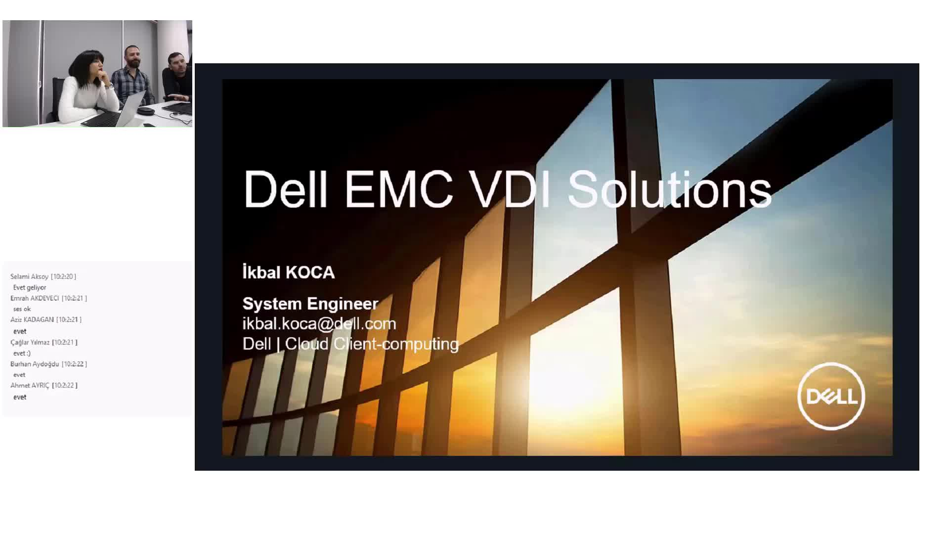 Dell EMC ile Thinclient ve Desktop Virtulization Çözümleri