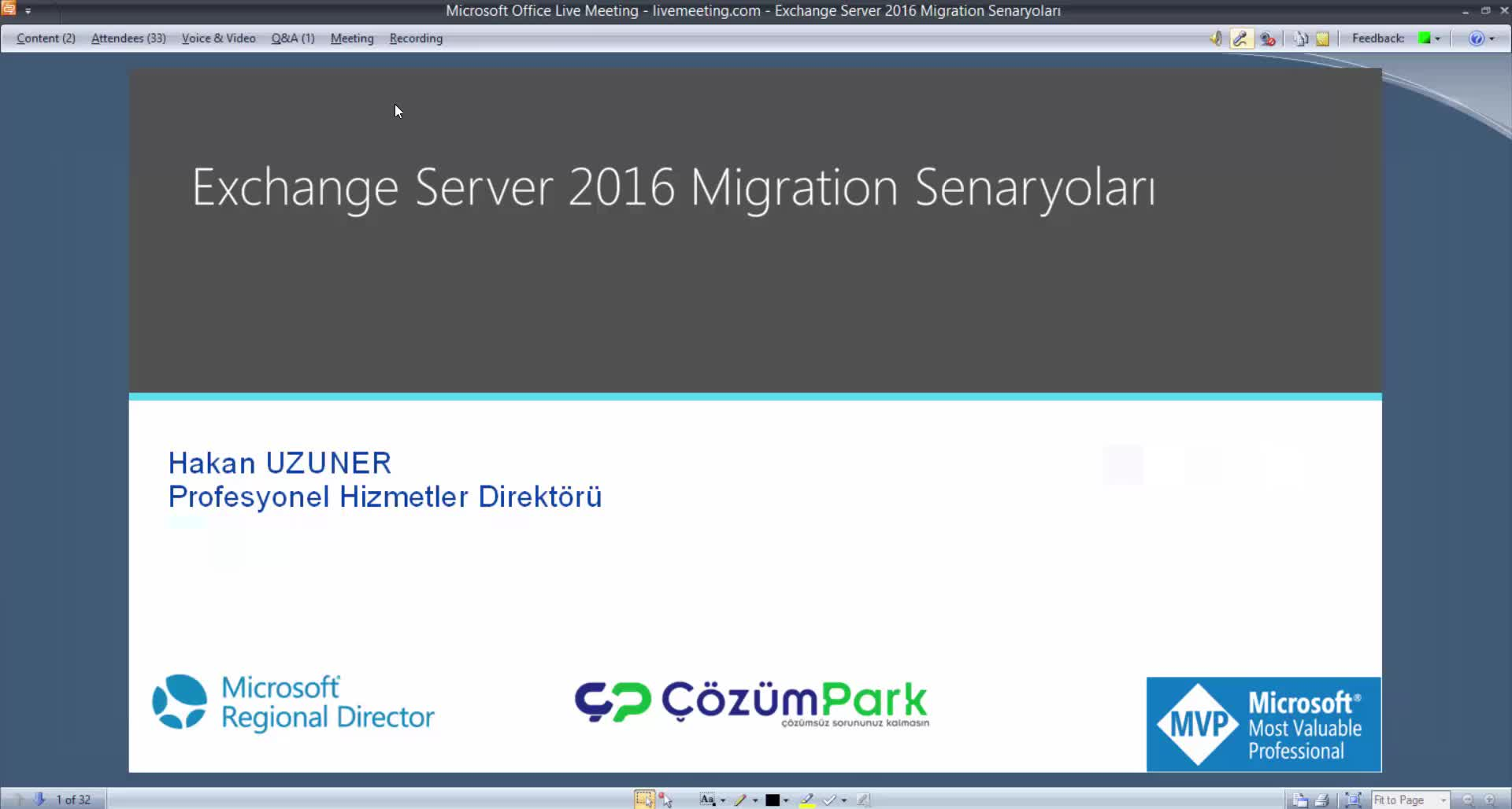Exchange Server 2016 Geçiş Senaryoları - Exchange 2016 Migration