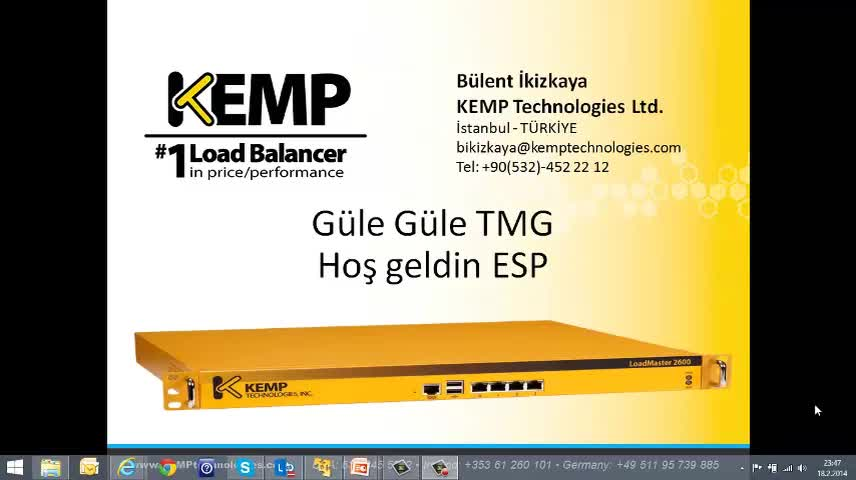 KEMP ESP – Edge Security Pack