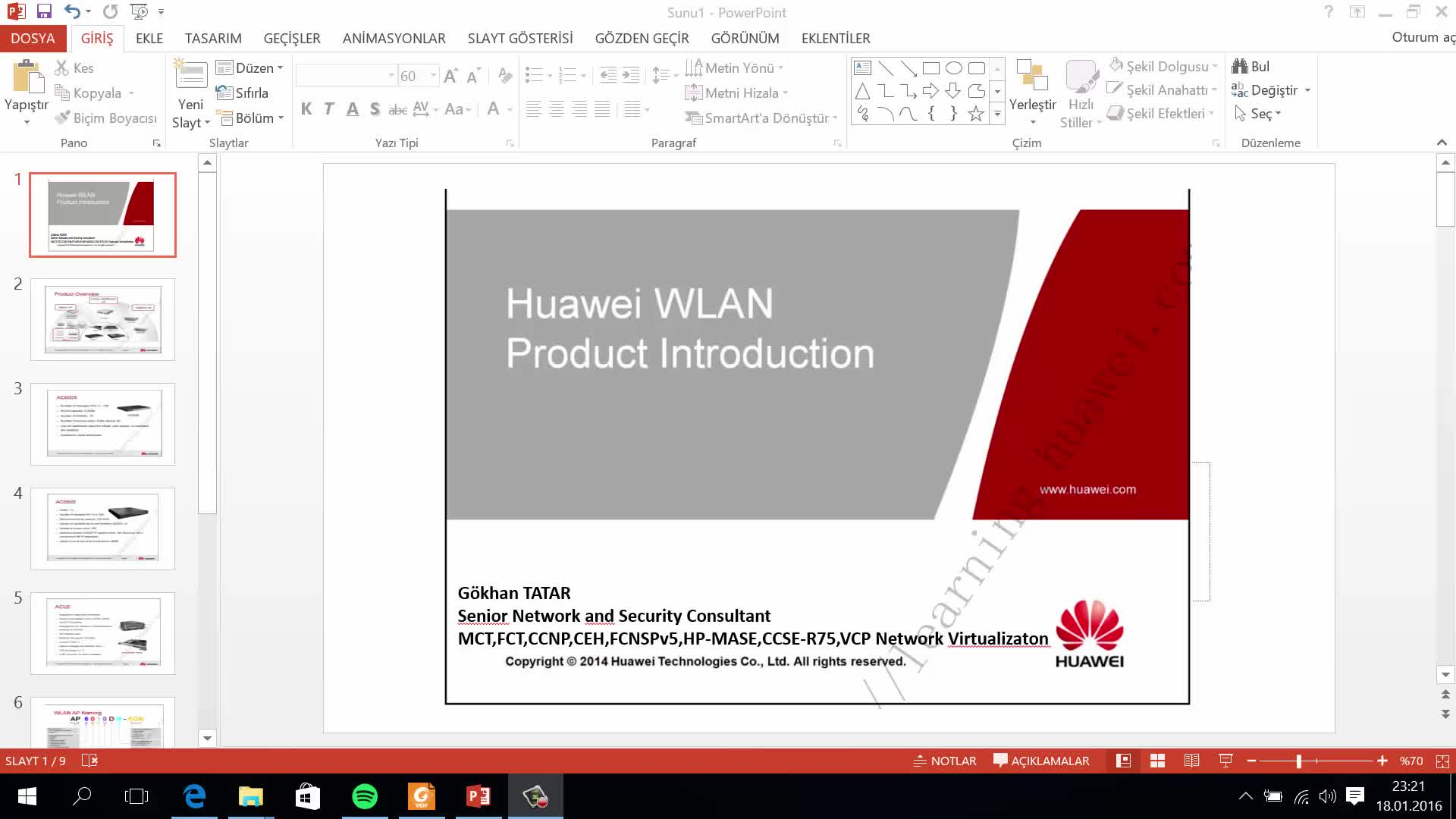 Huawei WLAN Product Introduction