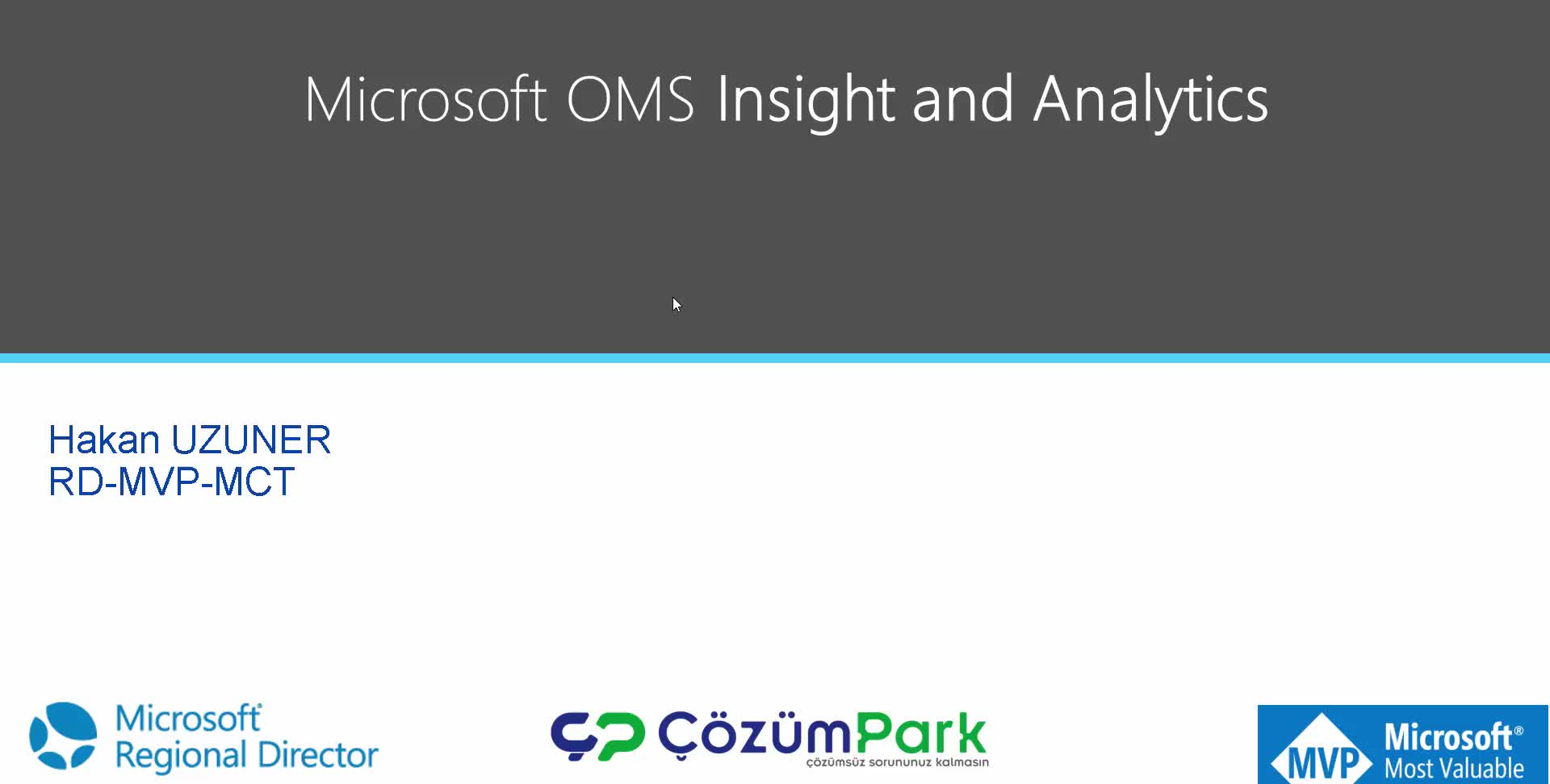 Microsoft Operations Management Suite OMS —Insight And Analytics