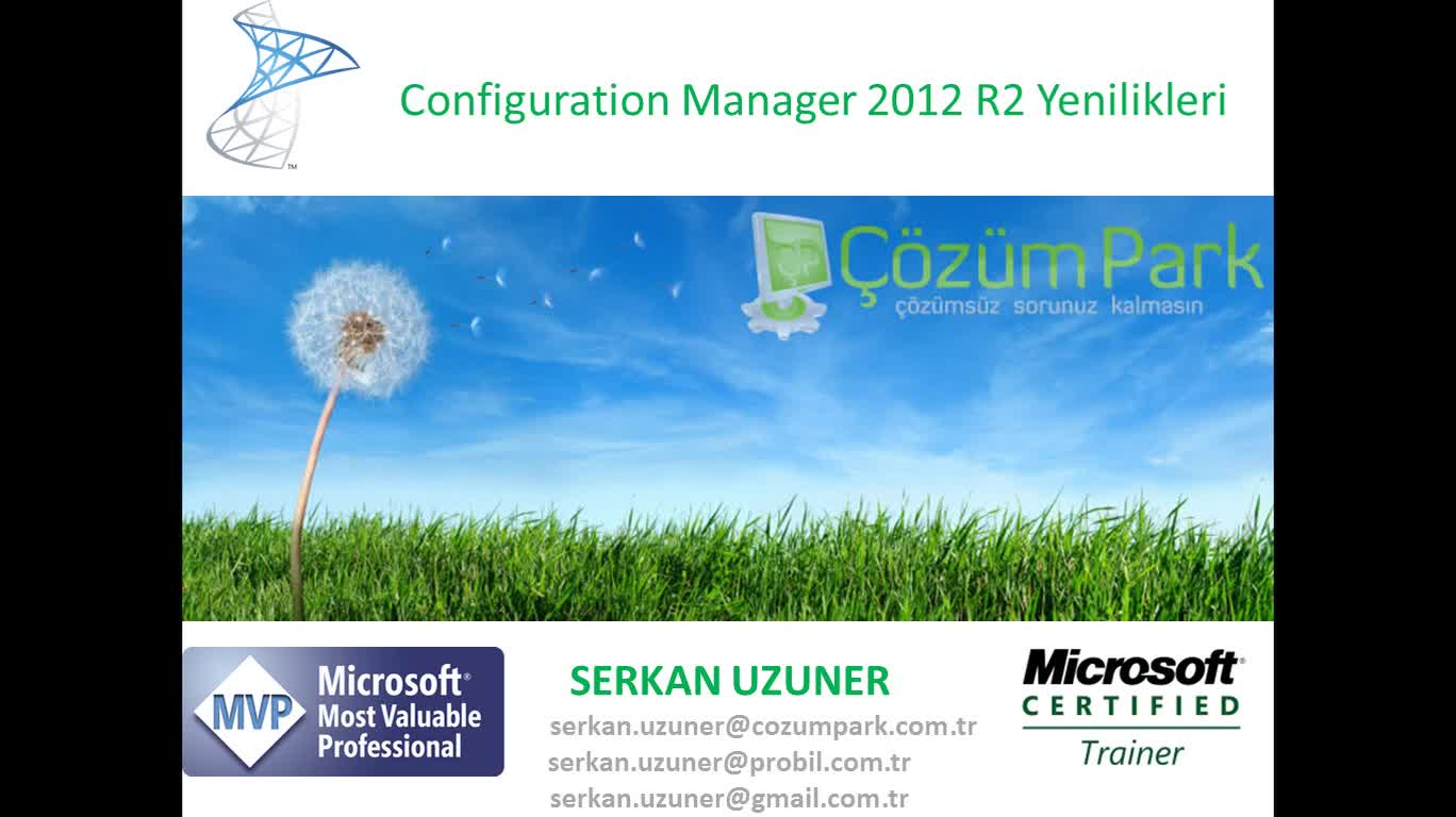 System Center Configurations Manager 2012 R2 Yenilikleri