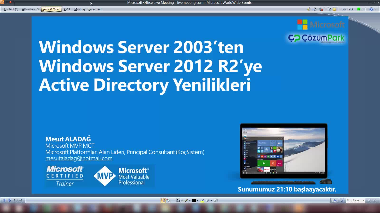 Windows Server 2012 R2 Active Directory Servis Yenilikleri