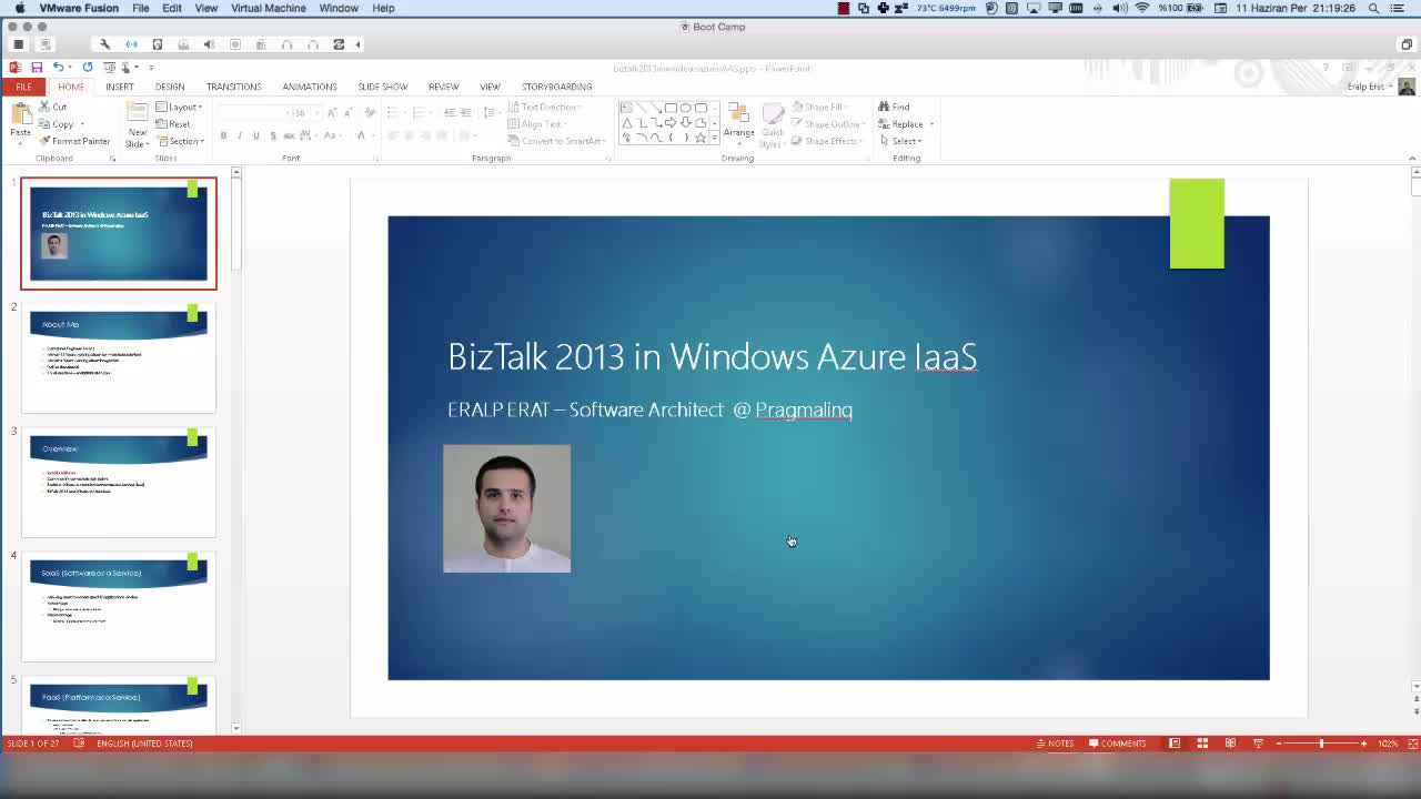 Using BizTalk in Azure IaaS