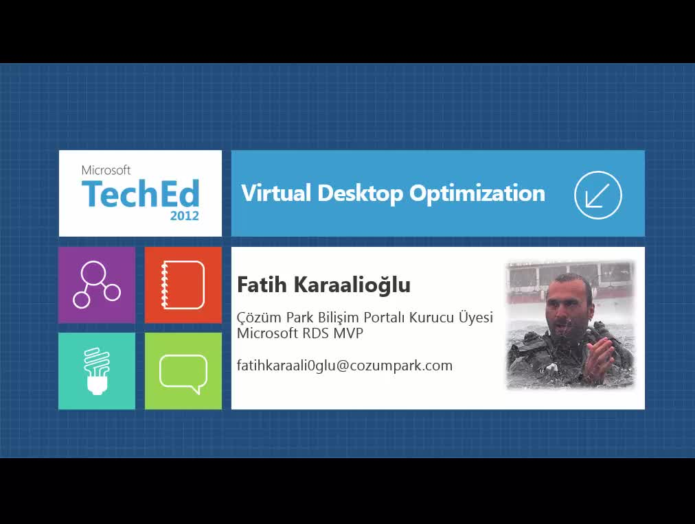 Virtual Desktop Optimization
