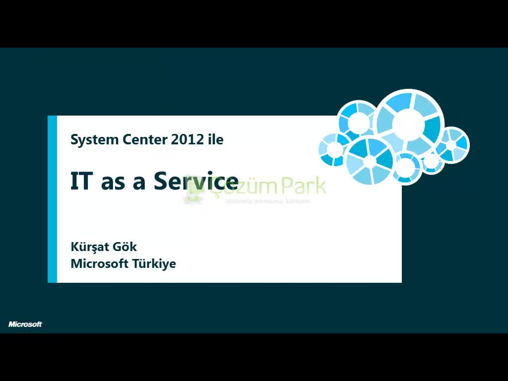 System Center 2012 ile IT as a Service