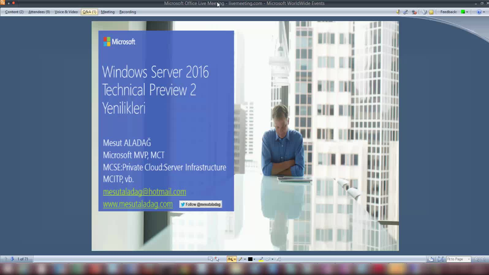 Windows Server 2016 Technical Preview 2 Yenilikler