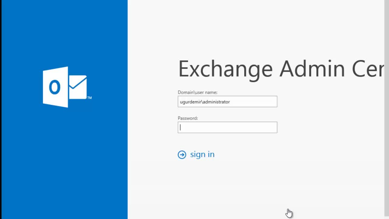 Exchange Server 2013 SP1 E-Mail Adress Policies İşlemleri