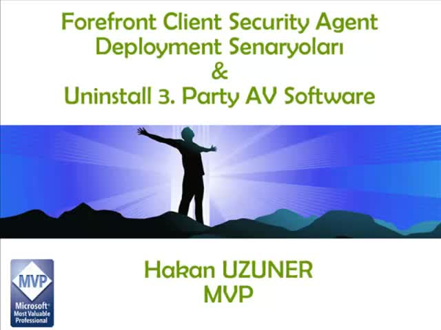 Forefront Client Security FCS Deployment Tool