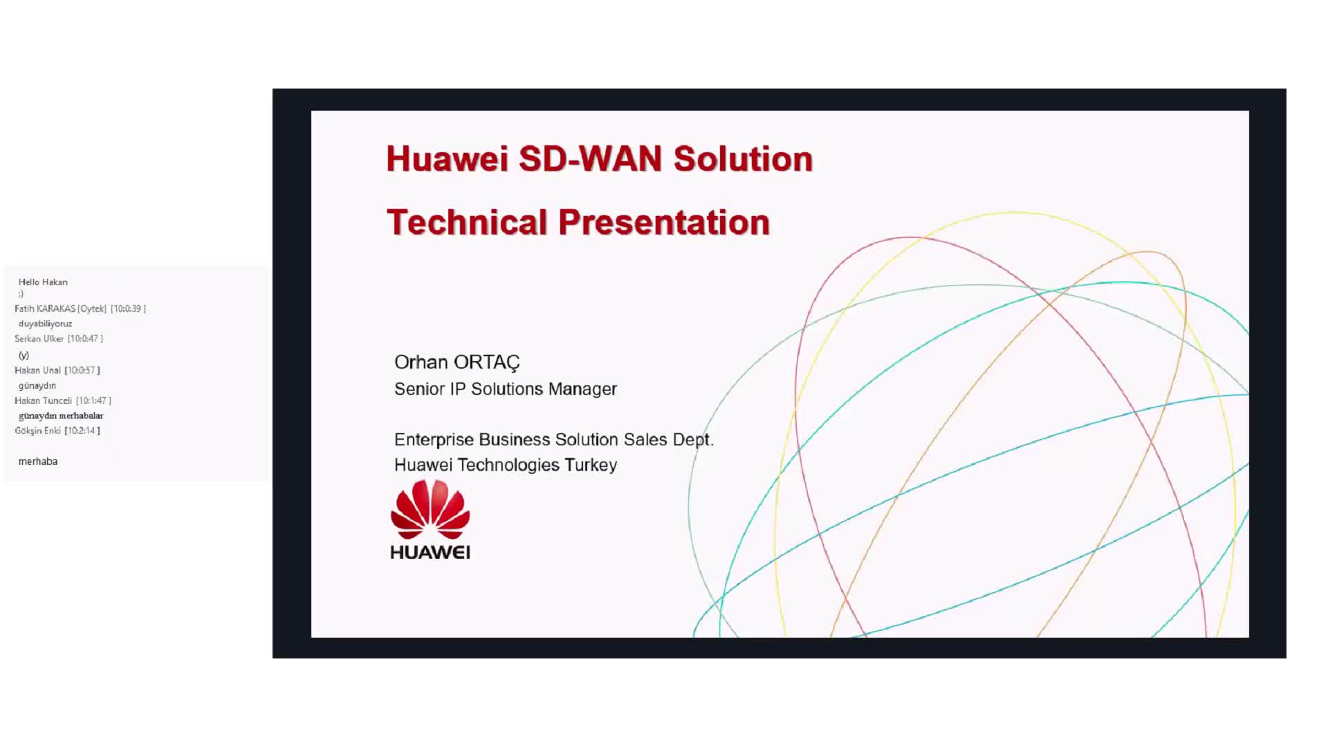 Huawei SD-WAN Software Defined-Wide Area Network Çözümü
