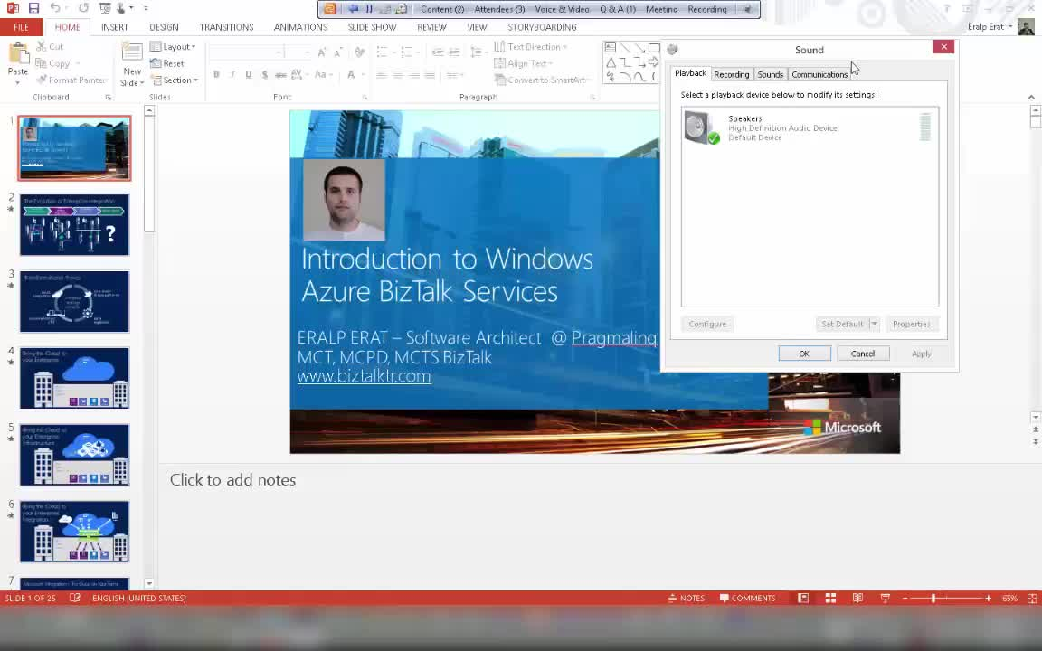 Introduction to Windows Azure BizTalk Services