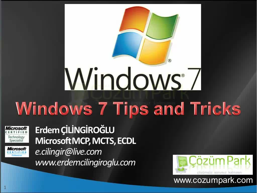 Windows 7 Tips and Trick