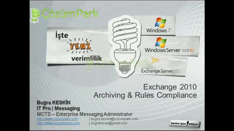 Exchange Server 2010 Archiving & Rules Compliance
