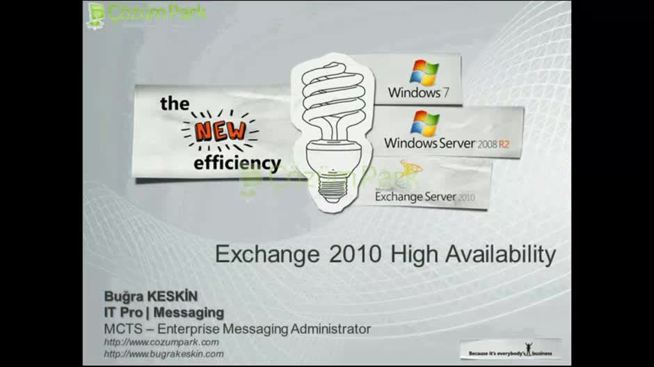 Exchange Server 2010 SP2 High Availability