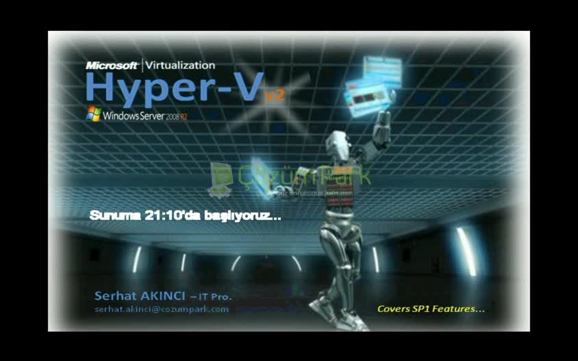 Hyper-V 2008 R2 Core Features with SP1