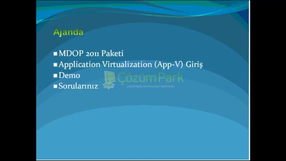 Application Virtualization - Genel Kavramlar